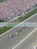 Indianapolis 500 : The 92nd Indianapolis 500 Mile Race was run on Sunday, May 25th, 2008 at The Indianapolis Motor Speedway. Scott Dixon came in first, with a record winning of $2,988,065.00. The 27 year-old was the first native of New Zealand to win the Indy 500, leading 115 of 200 laps. The drivers usually maintain speeds well over 225mph but the maximum speed for all was 147 mph due to the accidents....that did not stop the roar of the engines. 2nd place winner was Vito Meira #4 and 3rd place was secured by Marco Andretti #26. Coming in the 10th place spot was Townsend Bell #99, in the William Rast Honda Dollaria nicknamed 'the jeep' because of its army jeep like colors, thought of by Townsend Bell, Justin Timberlake and friends. Some of the news at the race was the interesting relationship between William Rast (fashion company) www.williamrast.com , Townsend Bell (driver), and Dreyer & Reinbold Racing (owners, Robbie Buhl and Dennis Reinbold). The Dreyer & Reinbold team consists of Townsend Bell, Milka Duno and Buddy Rice. The evening before the race was devoted to an early charity dinner hosted by Robbie Buhl, founder of Racing for Kids www.racingforkids.org. The organization helps chronically ill children through motor sports and visits by race car drivers to cheer them up and teach them about the motorsport. The 92nd Indy 500 was a spectacular event! The race drew more than 300,000 spectators. The celebrity line-up was diverse. In attendance were Tamika Catchings and Katie Douglas, Floyd Mayweather, Jr., Julienne Morgan 'Dancing with Stars', Drew Lachey, Marilee Matlin and others. 