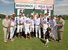 "The 11th Annual Mashomack International Polo Challenge : Saturday, June 21, 2008, The Mashomack Preserve Club, Millbrook, New York. The 11th Annual Mashomack International Polo Challenge event began at noon with a lively Champagne reception followed by a field-side, tented luncheon. On the field was an exciting 12-goal polo match with teams from the United States (sponsored by The Carlyle, A Rosewood Hotel), Great Britain (sponsored by the Dorchester Collection) and France (sponsored by Berluti) battling valiantly to secure the coveted trophy for their team and country. Luncheon patrons enjoy getting in the spirit of the match as the various countries' flags fly around the field. Some support their native lands while others favor more the country they desire to be from! The Awards Ceremony consists of the trophy presentation as well as Best Playing Pony and Most Valuable Player.  The Mashomack Preserve Club is a private shooting and polo club located on close to 2,000 pristine acres in the heart of Millbrook hunt country. The match attracts 500 ""Town and Country"" type patrons and marks the start of the summer social season in Millbrook. The polo challenge and luncheon  benefit the Foundation for the Pine Plains Community Center and Library, Pine Plains Fire Hose & Rescue Company and the Mashomack Barns Preservation.  Mashomack Polo Club's facilities features five tournament-class fields, one practice field, stick and ball areas and a regulation outdoor polo arena.  There is polo to suit every level of player from June through September. Web:  www.mashomackpolo.com   PHOTO CREDIT: ©Manhattan Society.com 2008 by Karen Zieff 