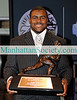 75th Annual Heisman Memorial Trophy Award Press Conference & Reception : NEW YORK-DECEMBER 12: 75th Annual Heisman Memorial Trophy Award   Press Conference & Reception Presented by NISSAN on Saturday, December 12, 2009 at  The New York Marriott Marquis  in  Times Square, 1535 Broadway at 45th Street, New York City, NY.    In one of the closest votes in the history of the Heisman Memorial Trophy, University of Alabama Crimson Tide Running Back  Mark Ingram was selected the 75th winner of the Heisman Memorial Trophy as the Most Outstanding College Football Player in the United States for 2009. The announcement was made  in a ESPN Live Broadcast  from the  Nokia Theatre.  Ingram won the award over Toby Gerhart of Stanford by only 28 points in the closest finish   in the 75 year history of the Heisman.   The Presss conference referenced in these photos followed the live announcement at the Nokia Theatre.   The 2009 Heisman Memorial Trophy Award Finalists were  Toby Gerhart (Stanford)   | Mark Ingram (Alabama)  | Ndamukong Suh (Nebraska)   | Tim Tebow  (Florida)   |  Colt McCoy  (Texas)  who was honored on  Baltimore  on Friday, December 11th  as the recipient of the  Johnny Unitas ­ Golden Arm Award.    About The Heisman Trust: The Heisman Memorial Trophy annually recognizes the outstanding college football player whose performance best exhibits the pursuit of excellence.  The Heisman Trophy Trust  has a charitable mission to support amateur athletics and to provide greater opportunities to American youth and ensures the continuation and integrity of this award. The goal of these charitable endeavors is for the Heisman Trophy to symbolize the fostering of a sense of community responsibility and service to youth, especially those disadvantaged or afflicted.      SEE ALSO: 75th Annual Heisman Weekend Press Conference with Finalists   |  'WINNER' – TIM TEBOW JOINS NEW YORK JETS by Christopher London, Esq.        PHOTO CREDIT:Copyright ©Manhattan Society.com 2009 by  Christopher London   |  tel: Private  |e-mail: ChrisLondon@manhattansociety.com***NOTE: More notes, photos and id's to follow*****