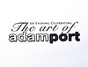 "An Evening Celebrating The Art of Adam Port Benefiting Ronald McDonald House : NEW YORK-OCTOBER 6: An Evening Celebrating The Art of Adam Port Benefiting Ronald McDonald House  on  Wednesday October 6, 2010 at the OpenHouse Gallery, 201 Mulberry Street, New York City. Celebrated artist Adam Port  who was recently chosen to create a painting of over 30 NFL Hall of Famers including Jerry Rice and the 2009 Basketball Hall of Fame Induction Ceremonies including Michael Jordan, hosted an evening showcasing his works and benefitting Ronald McDonald House New York. The photorealist painter, who has also created exclusive works for many of today's biggest athletes, has emerged as one of the rising stars in the world of sports culture. Some of Port's work can be found in the collections of Dwyane Wade, Carmelo Anthony, Michael Jordan, John Salley, Jay-Z's 40/40 Club and Ray Lewis.   Adam Port  has also taken on other projects including an exclusive piece for the Hip Hop Immortals Launch Party in 2002 and pieces for Ludacris, LL Cool J and Eminem.   All proceeds from Port's showcase will benefit Ronald McDonald House New York, which provides a temporary ""home-away-from-home"" for pediatric cancer patients and their families.  About Adam Port: Adam Port (www.adamport.com) is a talented, self-taught, young artist from a suburb of New York City. Adam Port's artistic abilities were inspired at an early age by artists Chuck Close, Norman Rockwell and Illustrator Drew Struzan. Their work has influenced Adam to develop a realistic style of his own. He perfected his technique while attending Syracuse University's prestigious School of Visual and Performing Arts, where he earned a Bachelor's degree in Fine Art. Adam Port  has established himself as one of today's premier sports and entertainment artists    PHOTO CREDIT: ©Manhattan Society.com 2010 by Stuart Rinzler 