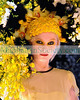 """Tulips & Pansies: The Headdress Affair"" to Benefit VCNY-- Village Care of New York : Thursday, May 15, 2008, The Altman Building, 135 West 18th Street (between 6th & 7th Avenues), New York City, NY. This year, a prestigious roster of top tier fashion designers such as Betsey Johnson, Alvin Valley, Catherine Malandrino, Yigal Azrouel, Shoshanna, Lela Rose, Magda Berliner, Cynthia Steffe, Jordi Scott, b. michael, Alexis Bittar and others were paired with NYC's finest floral designers to create a festive, high-fashion runway show of elaborate floral headdresses made entirely from living plants and fresh cut flowers. The event which raises funds for Village Care of New York (www.vcny.org), a non-profit organization providing vital health care programs to people living with HIV/AIDS, was hosted by Full Frontal Fashion's James Aguiar and was co-chaired by Lydia Hearst and Heatherette's Richie Rich & Traver Rains. Surprise guest judges honored the headdress design teams in several different categories including ""Most Beautiful, Most Original and Most Outrageous.""  PHOTO CREDIT:©Manhattan Society.com 2008 by Gregory Partanio 