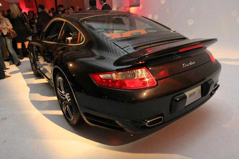 PORSCHE 911 Turbo Sneak Preview Party at Splashlight Studios