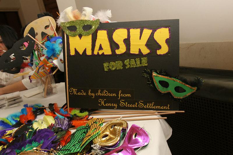Friends of Henry Street Settlement Annual Mardi Gras Masquerade Ball