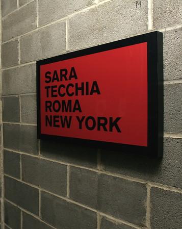 UNNATURALLY OCCURRING: SALT, SAND, BRONZE, GOLD at Sara Tecchia Roma New York Gallery