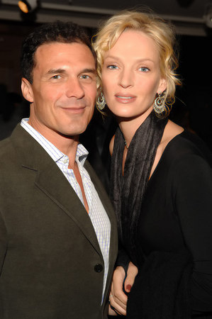 "Uma Thurman Hosts an Evening at Christies to Benefit ""ROOM TO GROW"""