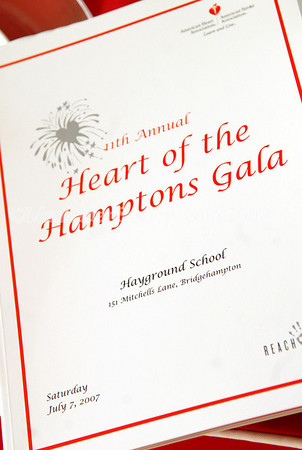 11th Annual Heart of the Hamptons Gala