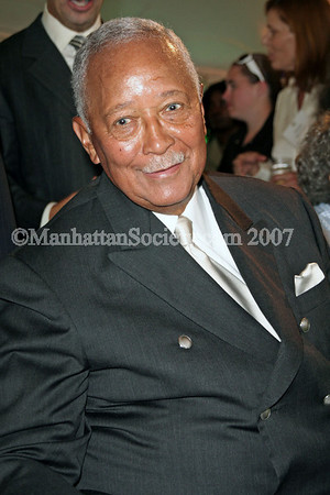 David Dinkins 80th Birthday Party at Gracie Mansion in New York City.