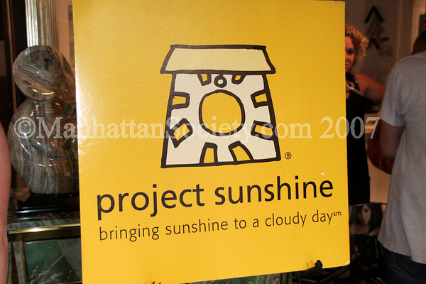 """Sunny"" Shopping Soiree @ Puccio Gallery to Benefit Project Sunshine."