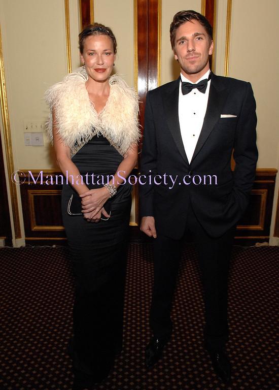 "American Scandinavian Society Christmas Ball 2008 Honors ""King Henrik"" aka Henrik Lundqvist and ""Lucilla"" aka Connie Nielsen at its Ball of the Century"