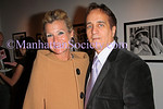 NEW YORK - OCTOBER 20:  Ellen Komesarook and James Cavello attend the Douglas Kirkland Photography Exhibition at The Westwood Gallery in New York City.  (Photo by Steve Mack/ManhattanSociety) *** Local Caption *** Ellen Komesarook; James Cavello