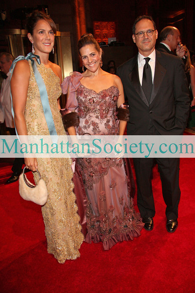 New York - September 17: Kim Hicks, Alexandra Lebenthal and Jay Diamond at The Ninth Annual New Yorkers For Children Gala Cipriani on East 42nd Street - Wednesday, September 17, 2008 in New York, NY.  (Photo: Manhattan Society by Steve Mack).
