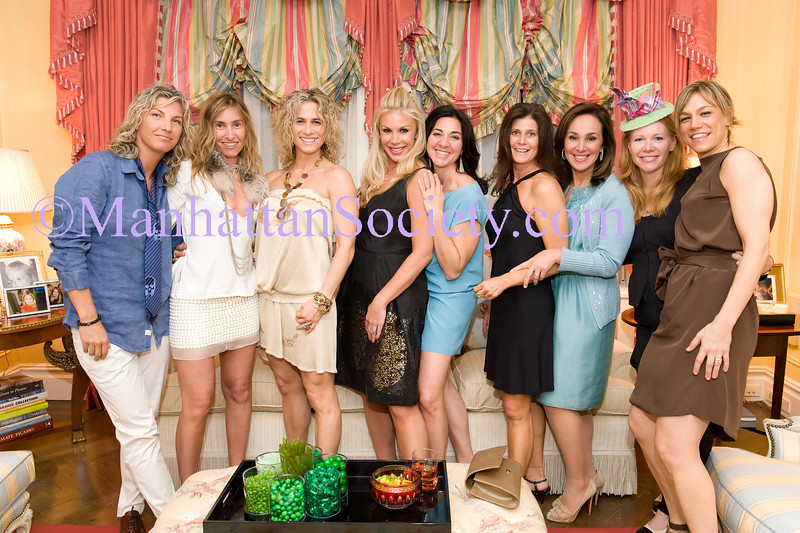 Stacey Griffith, Debbie Hymowitz, Melanie Griffith, Amy Phelan, Lori Abels, Ellen Grayson, Rosanna Scotto, Elizabeth Cutler, Julie Rice