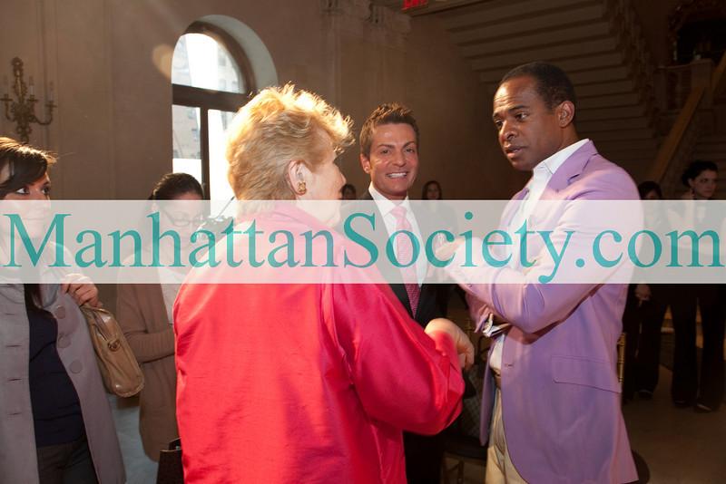 NEW YORK-APRIL 11:  Douglas Hannant Spring 2011 Bridal Show on Sunday, April 11, 2010 at The Plaza Terrace Foyer, The Plaza Hotel, New York City, NY   (PHOTO CREDIT:  ©Manhattan Society.com 2010 by Karen Zieff)
