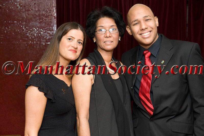 NEW YORK - MAY 03:Sharon Abramzon, Miguel & Guadelupe attend Gala por la Vida! Benefiting St. Jude Children's Research Hospital on Thursday May 3, 2012 in New York City at the Copacabana, 268 West 47th Street in Hell's Kitchen/Clinton section of Manhattan. (Photos by Gregory Partanio ©2012 ManhattanSociety.com)