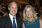 Board Member Gerald L Hassell, Chairman, President, and CEO, BNY Mellon, and Liz Peek<br /> <br /> Photo Credit: Linsley Lindekins