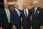 Larry Fink, Robert I  Grossman, MD, dean and CEO NYU Langone, James Speyer, MD, Ken Langone - Jay Brady Photography