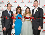 Honoree Dr  James Taylor, Rosanna Scotto, Heart Hero Caroline Loeb, Honoree Eric Trump