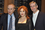 Martin Granoff, Bernadette Peters (Honorary Gala Chairman), Michael Granoff_credit Linsley Lindekins
