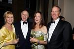Didi Schafer and Board Member Oscar S  Schafer, Nancy Schwartz, and Alan Schwartz_Julie Skarratt
