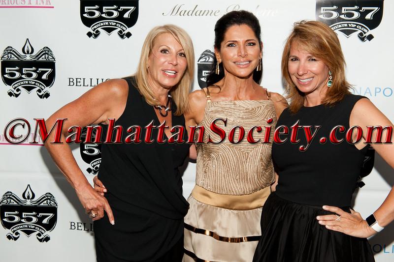 Dottie Herman, Sheila Rosenblum, Jill Zarin