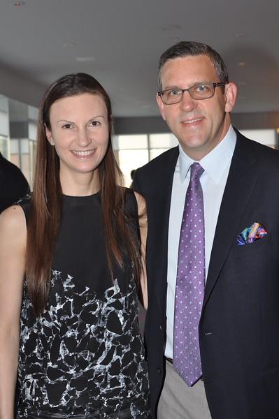 Sandra Kozlowski, New York Philharmonic President Matthew VanBesien
