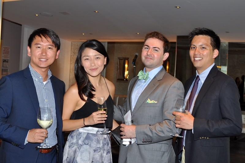 John Xue, Karen Walker, Eric Blair-Joannou, Michael Chen