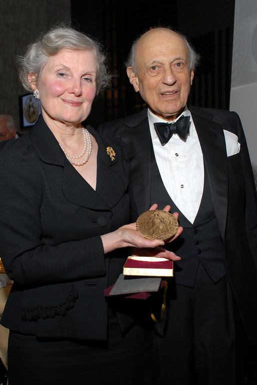 MUNICIPAL ART SOCIETY: Annual Dinner 2006 honoring Arthur & Janet Ross